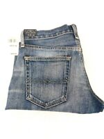 Lucky Brand Womens 221 Original Straight Factory Distressed Jeans Size 29x32 NWT
