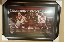 Sydney Swans History of The Brownlow Medal SIGNED Deluxe Lithograph Framed #1