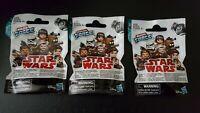 3 Star Wars Micro Force Series 3 Mystery Bags, 2 Figures per pack.