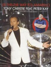 Is This The Way to Amarillo Tony Christie Sheet Music Peter Kay Pheonix Nights