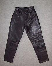 PANTALON 5 poches CUIR épais Femme / Ado, Motard, Biker, Taille 34 --- (PCF_014)