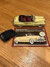 Danbury Mint Limited Edition 1947 Buick Roadmaster Convertible 1:24 Diecast Car