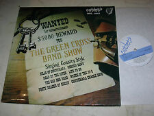 THE GREEN CROSS BAND SHOW Singing Country OUTLET LABEL