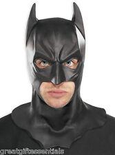 BATMAN MASK Cowl Adult Mens Full Overhead Dark Knight Rises Costume Accessory