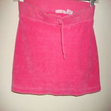 green dog girls pink towel shortall skirt  size s