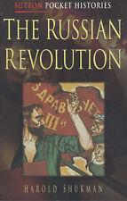 The Russian Revolution (Sutton Pocket Histories) by Harold Shukman - PB