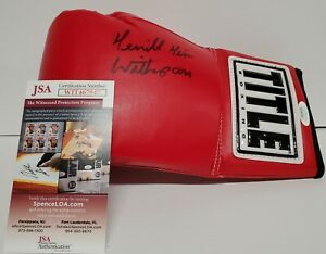 TIM WITHERSPOON AUTOGRAPHED SIGNED BOXING GLOVE JSA COA