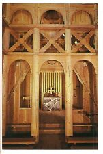 Interior STAVE CHURCH CHAPEL Borgund Stavkirke Rapid City South Dakota Postcard