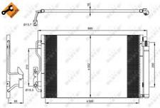 Kondensator, Klimaanlage NRF 35970 für BMW