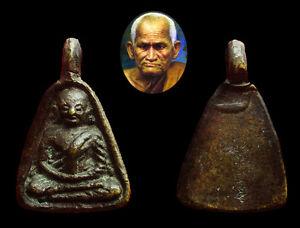 LP NGERN first generation Pim Job Lek BE 2460 Thai Amulet.
