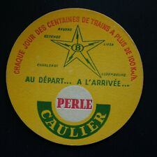 Perle Caulier Expo 58 sous-bock bierviltje bierdeckel coaster