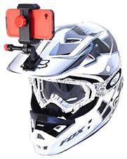 Iphone cámara de casco deportiva de acción montaje de vídeo de punto de vista