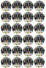 24 x Disco party Edible Cupcake Toppers Pre-Cut