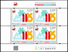 Polska Poland 2018 Fi BLOK 314 Mi 4973klb. PyeongChang 2018