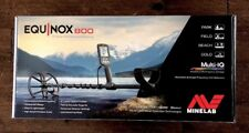 Minelab Equinox 800 ~ New In Box ~ Never Used.  MAKE OFFER.  LQQK