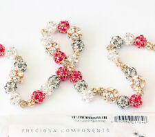 Genuine PRECIOSA Czech Crystal Maxima Ball Plated Beads