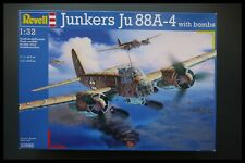 Revell Junkers Ju 88A-4 with bombs 1:32 Model Kit Sealed Bags