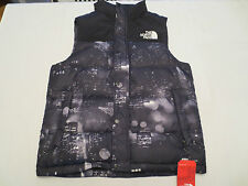 The North Face NUPTSE HEIGHTS VEST TNF Black CX55Q3N Mens SIZE LARGE L NWT