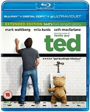 Ted (Blu-ray, 2012) Mark Wahlberg FREE SHIPPING