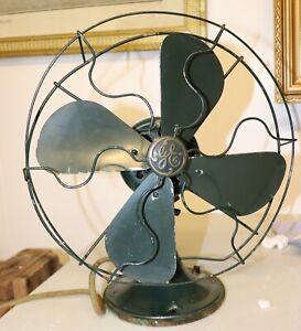 vintage General Electric  fan c.1930