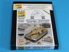 1/35 ABER 35K07 UPGRATE SET for GERMAN sd. Kfz. 186 JAGDTIGER - for TAMIYA Kit