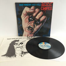 Alice COOPER-Raise Your Fist and Yell | German 1st Press | LP NEAR MINT NM