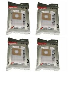 Shop Vac Filter Bag Replacement Vacuum Filtration 2-3 Gal 12 Pack 90668 NEW