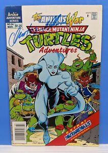 TEENAGE MUTANT NINJA TURTLES TMNT Adventures Archie Comics #54 Signed 1993