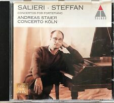 SALIERI STEFFAN - ANDREAS STAIER - CONCERTO KOLN - CD