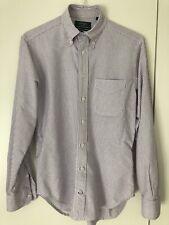 Gitman Vintage for Dover Street Market Mens Oxford Cotton Stripe Shirt, Size M