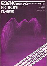 Science Fiction Times Nr. 11 - 1987 Magazin für Sci-Fi und Fantasy, RAR