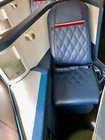 Complete 747 First Class Lay Flat Seat Compartment