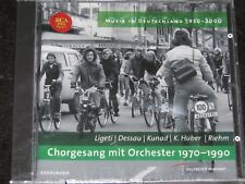 MUSIK IN DEUTSCHLAND Ligeti, Dessau, Kunad/ German PROMO CD 2005 RCA 74321735682