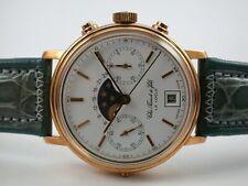 Traum Tissot Mondphasenchronograph massiv Gold 750 - eine von 130 Sammlerstück