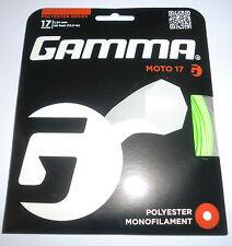 Gamma Moto 17 / 1.24mm Lime Tennis String Set