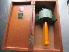 Vtg. Enbeeco Leech England Maritime Compass /Bakelite Handle Wood Box Hbc/2 #253