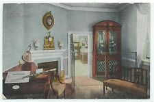George Washington's Mansion Mount Vernon The Music Room 1915 HAND TINTED PC Used