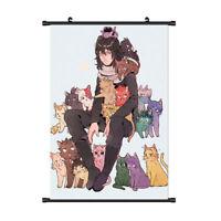 Anime My Boku no Hero Academia Wall Poster Cosplay Art Cloth Wall Decor Df N @sh