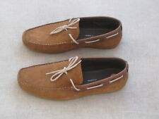 Pair of Red Tape Sandy brown suede men's casual boat shoes size 11 (45)