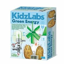 Green Energy Science Kit Educational Boys and Girls Ages 8-15 Years