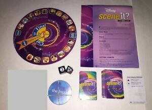 Disney Scene It? DVD 1st Ed Replacement Piece Parts Board Cards Dice