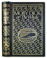 1977 Easton Press Moby Dick The Whale Melville Leather Binding 1St Edition