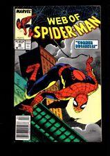 Web of Spider-Man US MARVEL VOL 1 # 49/'89