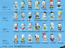 New Very Rare McDonald's 1999 Snoopy World Tour II (Complete set of 28 toys)