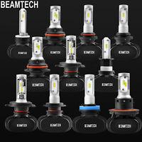 50W H13/9008 H11 H4 H7 9005 9006 LED Headlight Bulbs High Low Beam Fog Light Kit