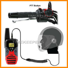 HM-800 Open Gesicht Motorrad Intercom Helm PTT Headset für Doro WT87 WT91X
