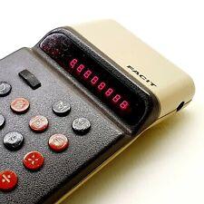 VINTAGE FACIT led pocket calculator 1970's SWEDEN