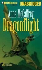 DRAGONFLIGHT unabridged audio book on CD by ANNE McCAFFREY - Brand New! 9 Hours!