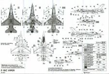HI Decal 1/72 Lockheed-Martin F-16C # 72021