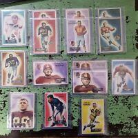 1955 Bowman Football - Cards #1-160 - Set Break - Choose From The List